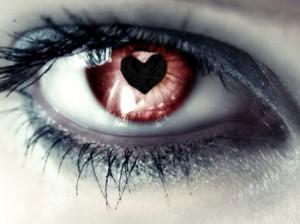 عکس , چشم عاشقانه , چشمهای گرافیکی عاشقانه