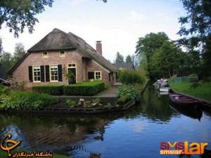 تصاویری از یک روستای رؤیایی در هلند