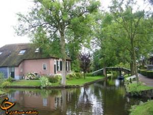 عکس مکان های رویایی - تصاویر رویایی از روستای در هلند